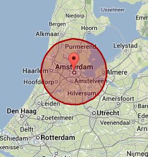 werkgebied amsterdam
